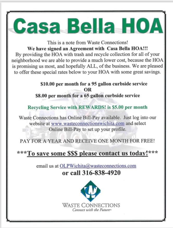Uncategorized Casa Bella Homeowners Association